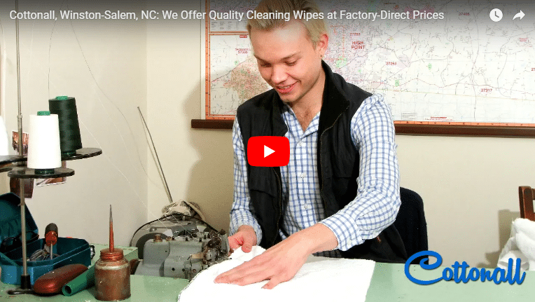 Cottonall, Winston-Salem, NC: We Provide Quality Cleaning Wipes for Your Specific Needs